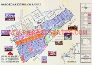 Atomic Energy Employees Cooperative Housing Society PAEC-ECHS Extension Rawat Islamabad. Paras Estates, Islamabad, Pakistan