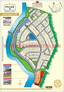 Map Bahria Town Phase 1 Islamabad. Paras Estates, Islamabad, Pakistan