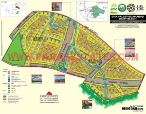 Daisy Block, DHA Valley. Defence Housing Authority. Paras Estates, Islamabad, Pakistan