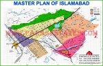 CDA Map of Islamabad