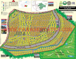 Lily Block, DHA Valley. Defence Housing Authority. Paras Estates, Islamabad, Pakistan