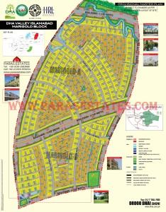 Marigold Block, DHA Valley. Defence Housing Authority. Paras Estates, Islamabad, Pakistan
