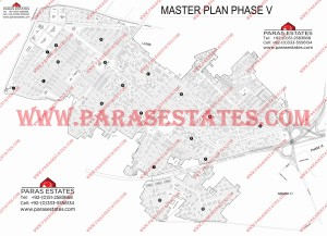 Map DHA Phase 5 Lahore