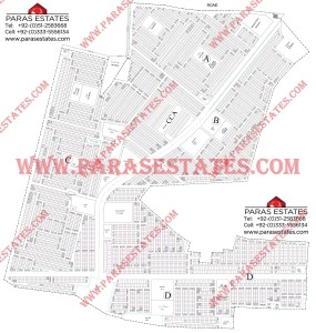 Map DHA Phase 9 DHA Town Lahore