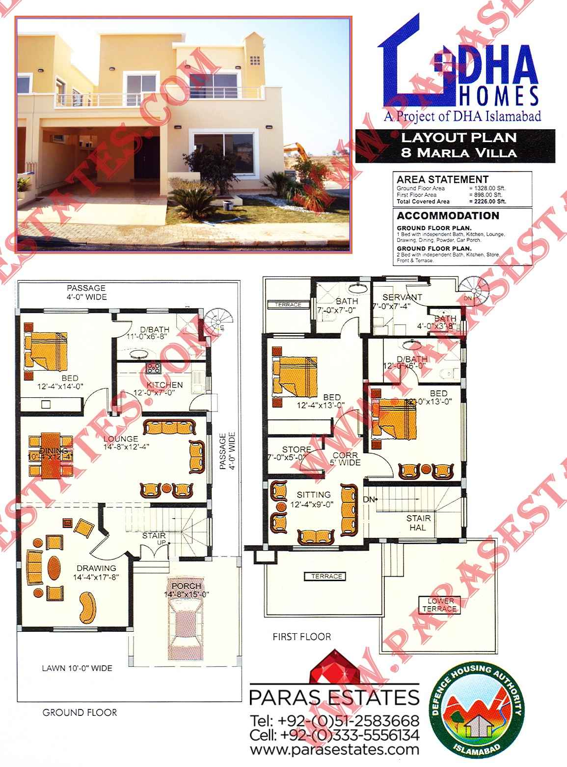 Pin Layout Plan Dha Homes 5 Marla on Pinterest