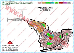 Map of CDA Park Enclave 2012