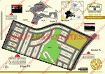 Map of Bahria Town Phase 8 Sector N, Islamabad