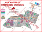 DHA Phase 8 Ex-Air Avenue (Old Map)