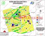 DHA City Karachi Sector 5 Map