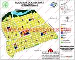 DHA City Karachi Sector 7 Map