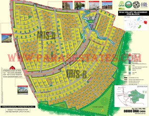 Iris Block, DHA Valley. Defence Housing Authority. Paras Estates, Islamabad, Pakistan