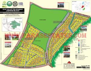 Jasmine Block, DHA Valley. Defence Housing Authority. Paras Estates, Islamabad, Pakistan