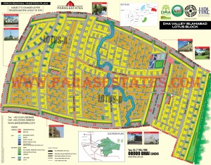 Lotus Block, DHA Valley. Defence Housing Authority. Paras Estates, Islamabad, Pakistan