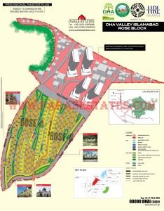 Rose Block, DHA Valley. Defence Housing Authority. Paras Estates, Islamabad, Pakistan