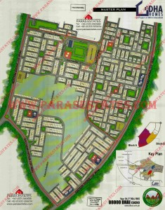 Map DHA Homes DHA Valley Islamabad