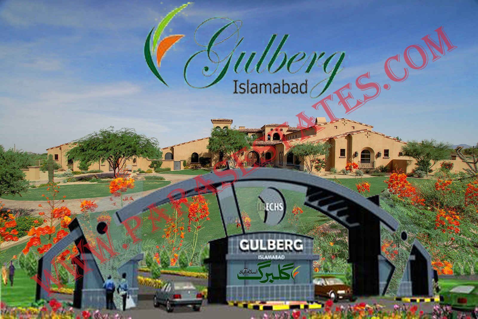 Gulberg Greens Farm Houses on Industrial Property For Lease