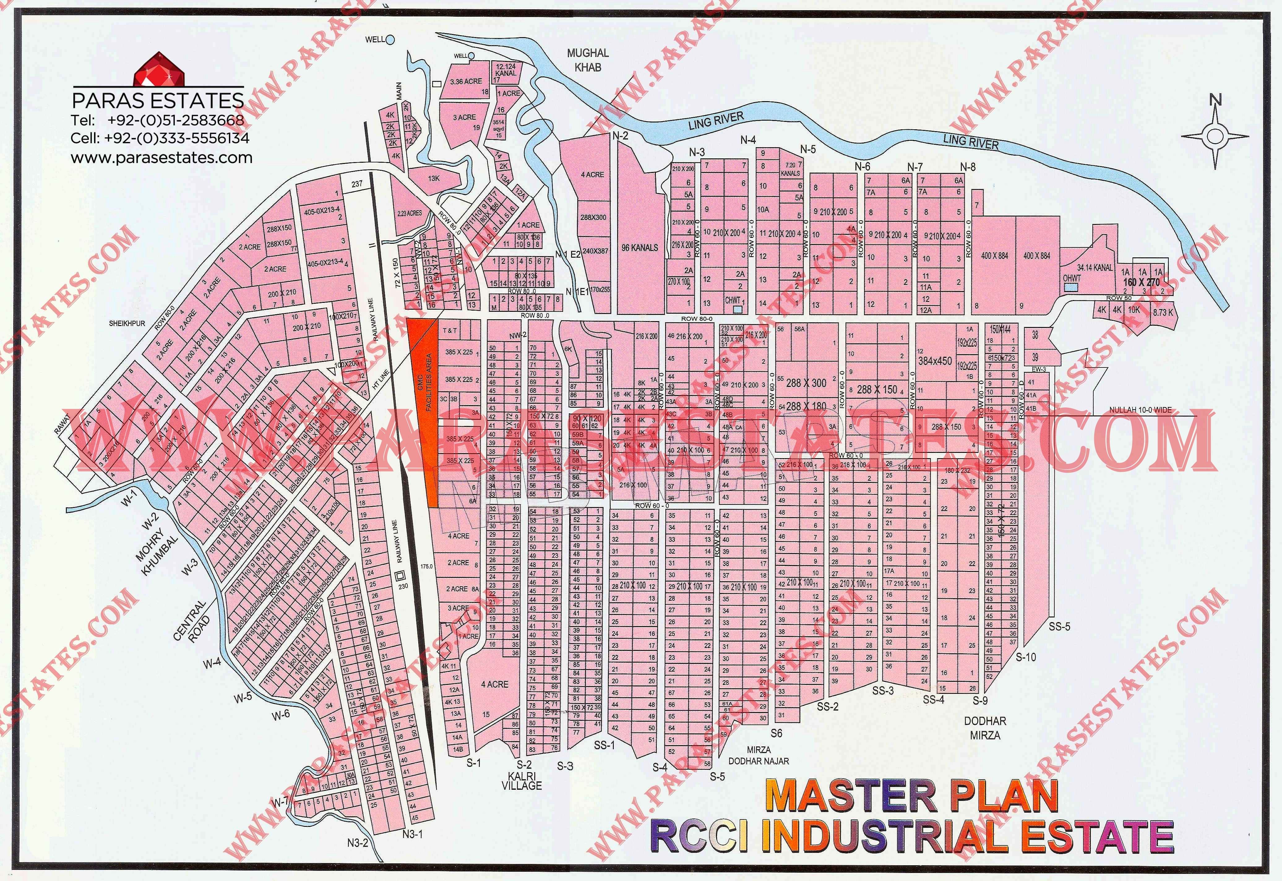 Industrial Estates Maps » Paras Estates