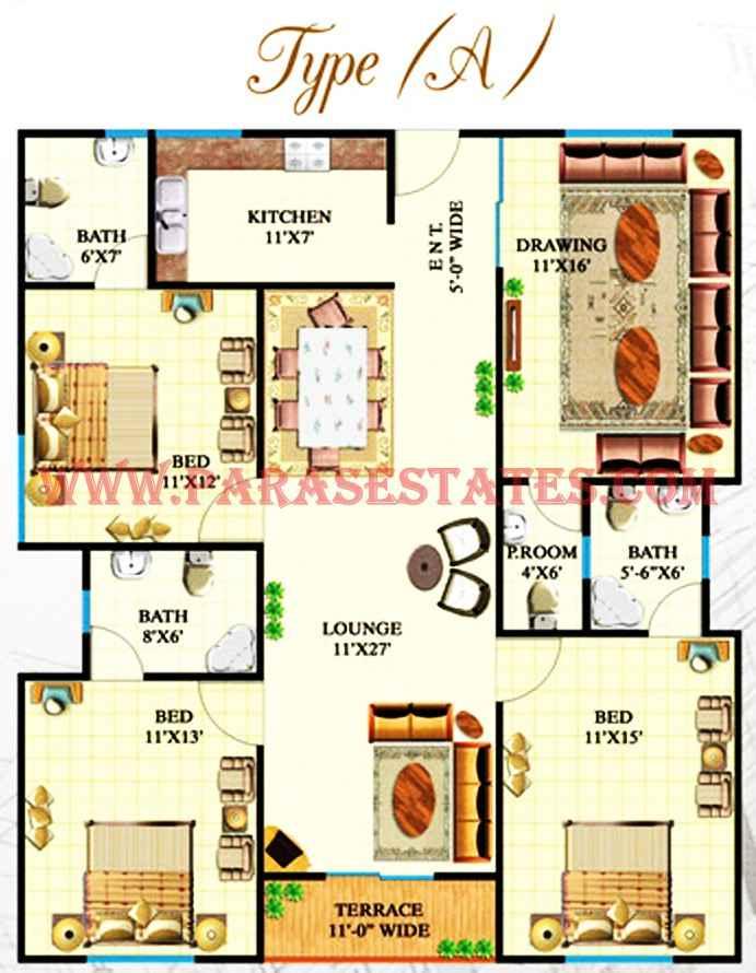 Defence Heights 187 Paras Estates