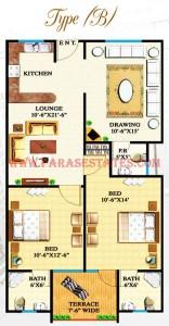 Defence Heights Type B Floor Plan