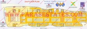 Floor Plan, WTC Second Floor, World Trade Centre, Islamabad Pakistan