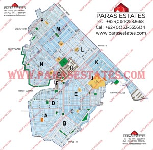 Map DHA Phase 1 Lahore