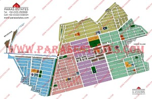 Map DHA Phase 3 Lahore