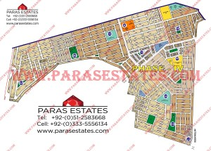 Map DHA Phase 4 Lahore