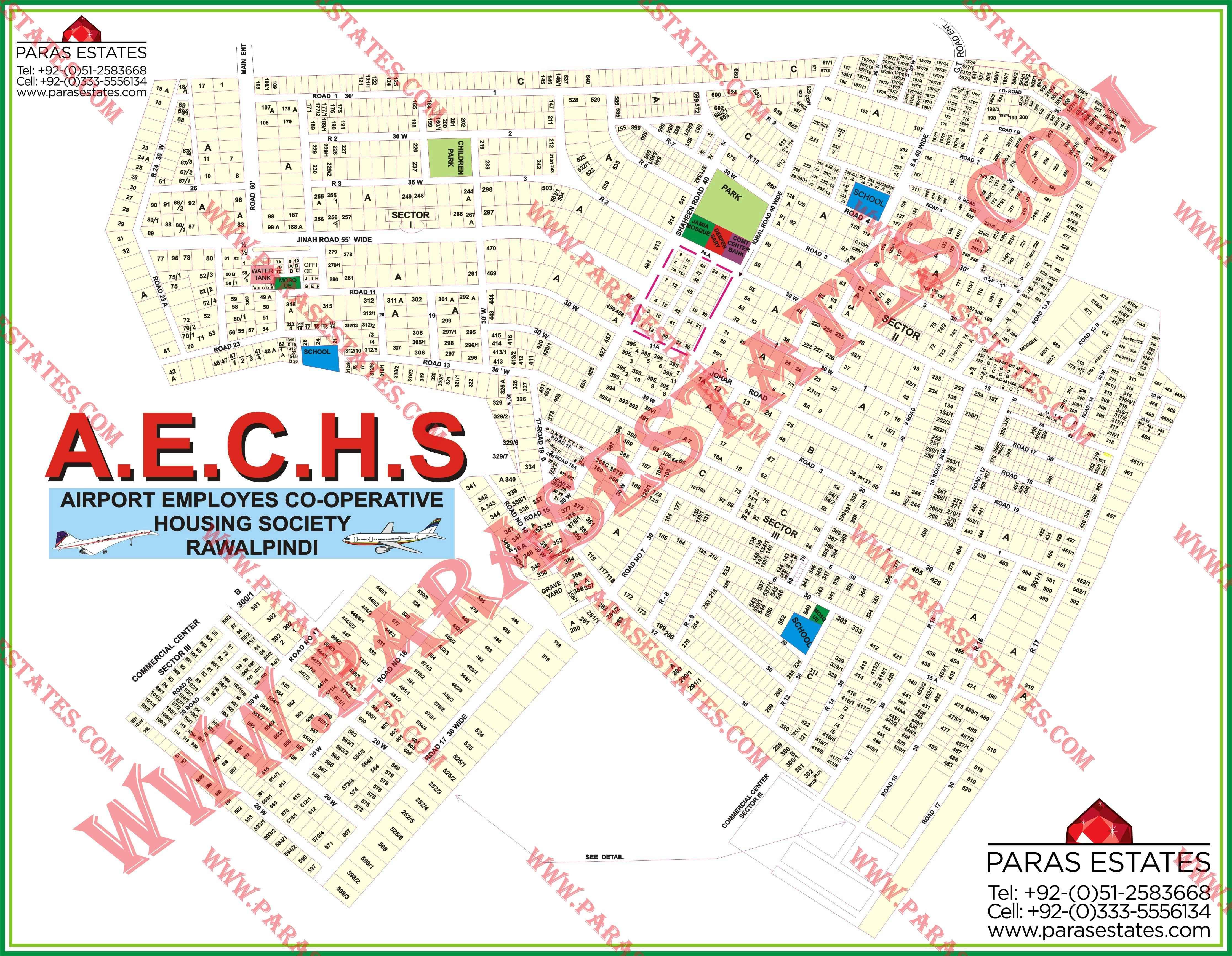 Airport Society (AECHS) » Paras Estates