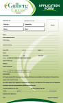 Gulberg Greens - Farm Houses - Application Form, Page-1