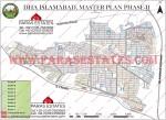DHA Phase 2, 2013 Official Map