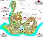 Bahria Town Phases 1 to 6 Map