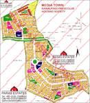 Media Town Rawalpindi Map
