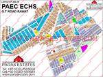 Atomic Energy Housing Society Rawat Full Map with Extension